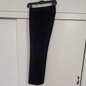 Black Pinstripe Banana Republic Pants / Trousers
